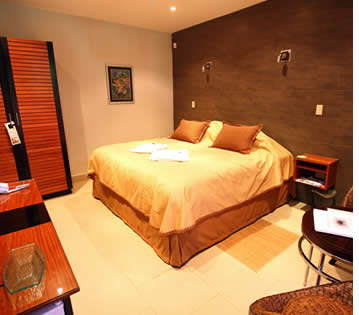 Hotel Room at the Haven in Boquete, Panama