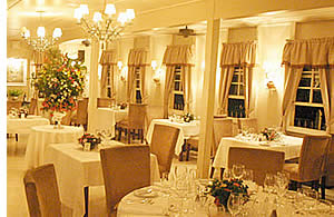 Dining Room at the Panamonte Inn & Spa